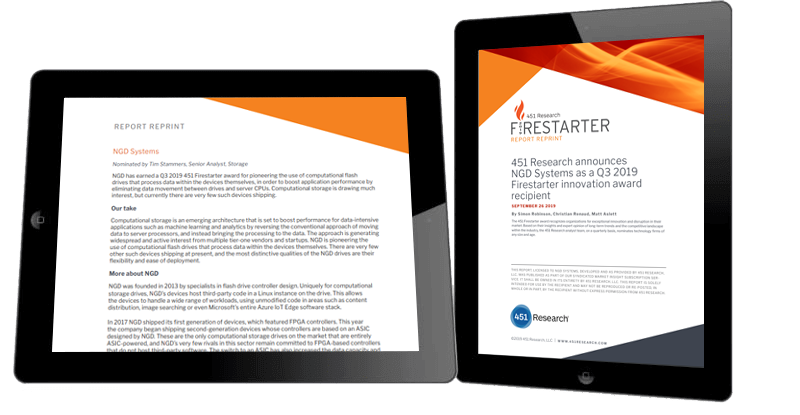 451 Research Firestarter recognizes technology firms for exceptional innovation.