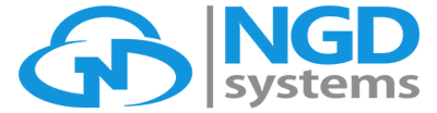 NGD Systems while logo
